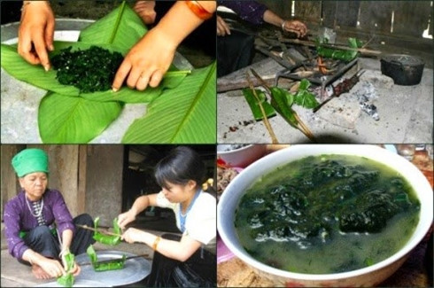 Moss of the Ma River – a unique dish in Son La, travel news, Vietnam guide, Vietnam airlines, Vietnam tour, tour Vietnam, Hanoi, ho chi minh city, Saigon, travelling to Vietnam, Vietnam travelling, Vietnam travel, vn news